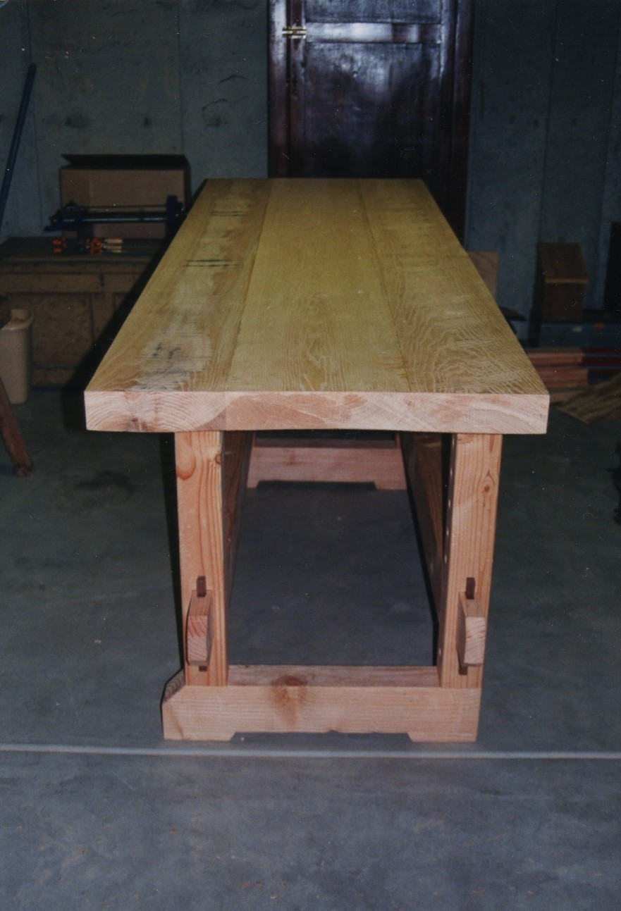 Wishing Work: Woodworking bench top thickness
